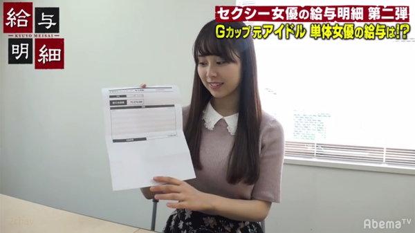 1本300万円の出演料のAV女優永瀬みなも3