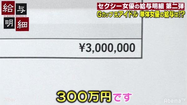 1本300万円の出演料のAV女優永瀬みなも6